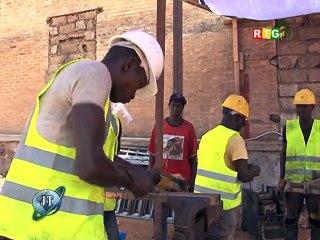 Blueline Guinée - Visite du Président Alpha Condé sur la Bluezone de Kaloum