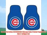 Caseys Verteilen 4610406466 Chicago Cubs Printed Teppich Car Mat 2-teiliges Set