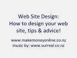 Web Site Design: Web Design Tips & Advice!