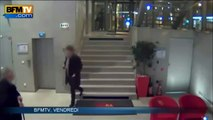 CCTV   Paris gunman wielding pump action shotgun