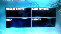 NBA 2K13 Wii Save (Roster Update on Jan 20, 2016) - video