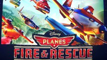 New Planes 2 Fire & Rescue Piston Peak Air Attack Disney Planes2 toy review Pontoon Dusty Crophopper