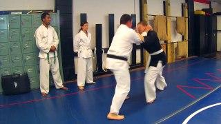 AEA Self defense Technique 10 Defense Against a Rear Pullbac