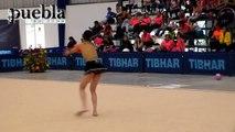 Campeonato Nacional de Gimnasia Rítmica en Puebla