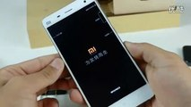 2014 NEW preview XIAOMI 4 XIAO MI 4 mobile PHONE unboxing Introductio test lesson smart  review