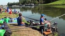 22ème Championnat du Monde de Pêche au coup pour dames  Le dernier entraînement