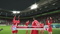 Pro Evolution Soccer 2014 FIFA Club World Cup celebration