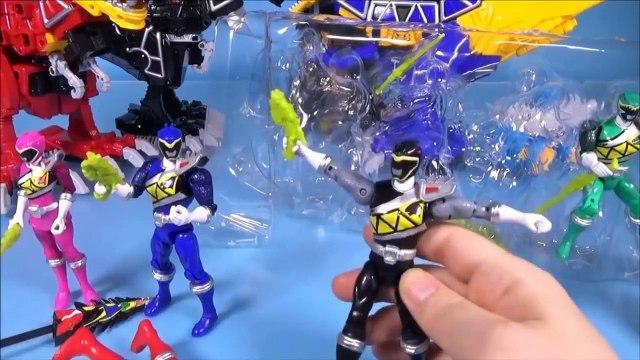 Đồ chơi Siêu nhân khủng long sấm sét Trọn bộ - Power Rangers Dino Charge