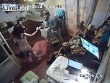 Russia. Chechens robbed underground brothel