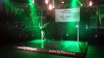 Derde plaats Basic NK Pole fitness 2015 Madieke van Bijl