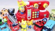 또봇 뽀로로 멜로디 소방차 자동차 타요 또봇 장난감 차 Pororo Fire engine Toys Tobot Tayo мультфильмы про машинки Игрушки