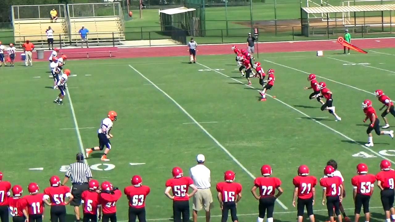 Nate Football highlights