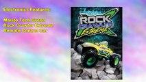 Maisto Tech Green Rock Crawler Extreme Remote Control Car