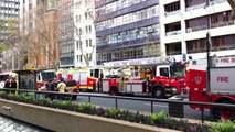 NSW Firefighters and Paramedics Rally infront of Parliament House, Sydney