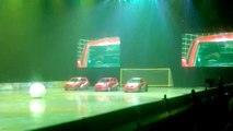 Clarkson, Hammond and May live - car football Belfast Odyssey Arena 25 May 2015