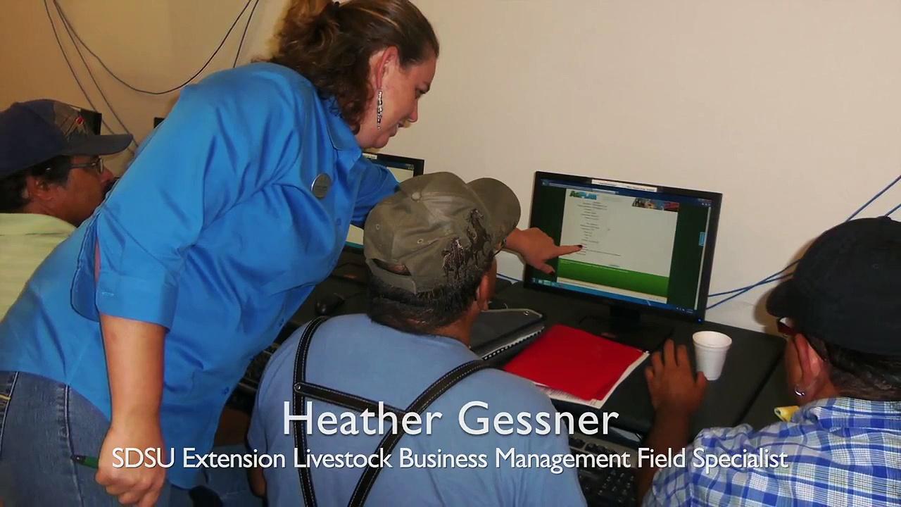 Heather Gessner, SDSU Extension Livestock Business Management Field Specialist