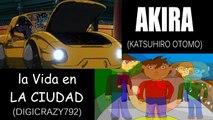 Akira V.S La vida en la ciudad: La Excursión [Comparación] (side by side)