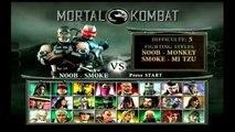 Mortal Kombat Deception - Noob-Smoke Playthrough