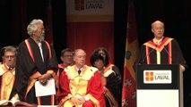 Doctorat d'honneur et conférence de David Suzuki à l'Université Laval