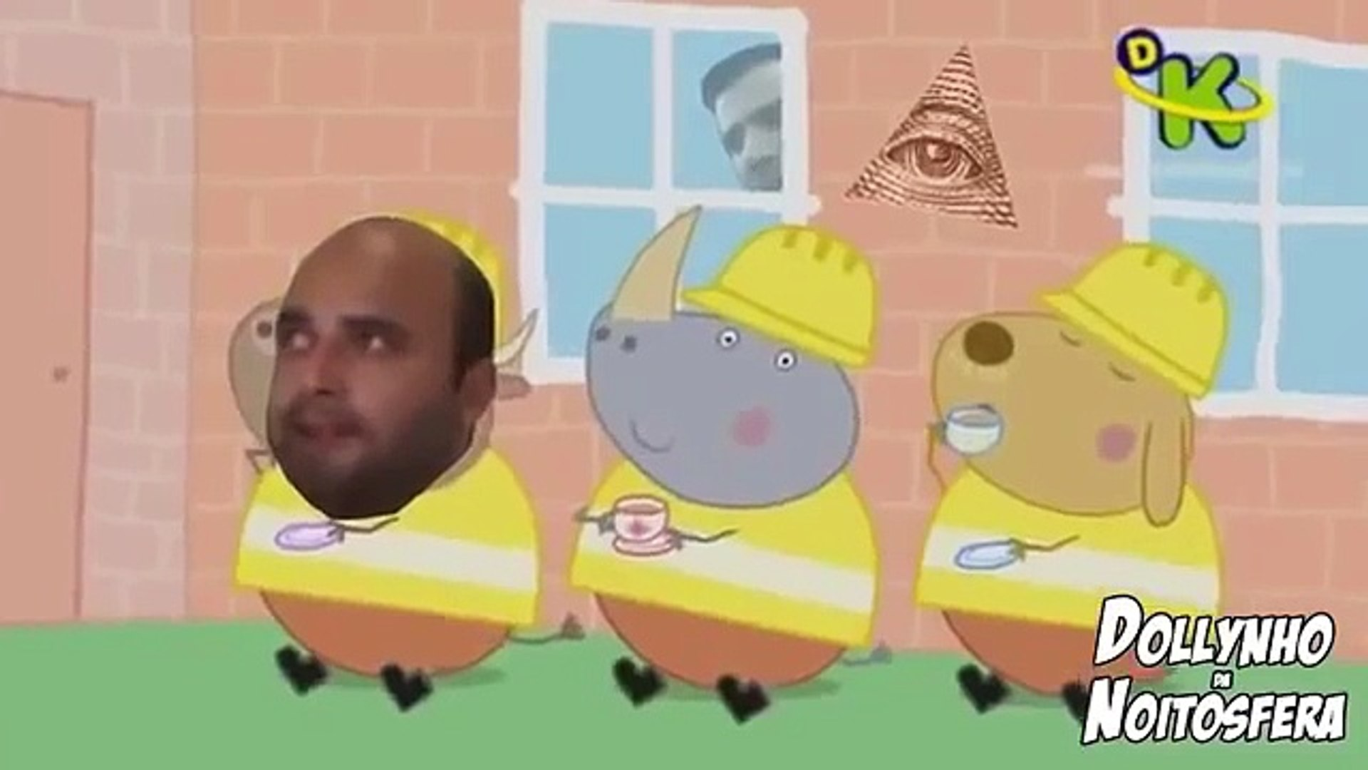 YTPBR - Peppa Pig  - Uma Casa Muito Bosta - REUP