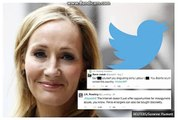 JK Rowling thanks followers for support after vile online abuse