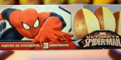 Huevitos Sorpresa del Hombre Araña Spider Man | Uova Sorpresa Uomo Ragno Spiderman