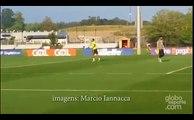 Neymar fait des pompes après deux jolis buts à l'entraînement du Brésil