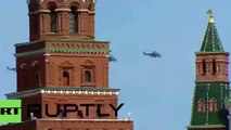 Victory Day 2015 - Russian Air Force fighter jets fly over Moscow