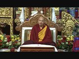 Karmapa's Speech in the closing Ceremony of the 1st Arya Kshema (Tibetan with English translation)