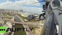 Victory Day 2015 Russian Air Force fighter jets fly over Moscow
