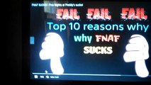 FNAF SUCKS! | Five Nights at Freddy's sucks! (REAC