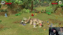 Jurassic World - #3 - Action in Jurassic Park // LETS PLAY LEGO JURASSIC WORLD