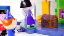 Can Peppa Pig Fly! Ben and Hollys Little Kingdom Thistle Castle and Play Doh Gaston Episodes