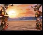 Madagascar Animation on a Gipsyish Manea !