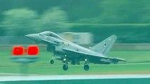 RAF Typhoon jet fighters intercept Russian 'Bears' aircraft