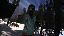 Kjersti Buaas Snowboarding Sierra at Tahoe 2010