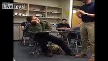 Falling Asleep During Class