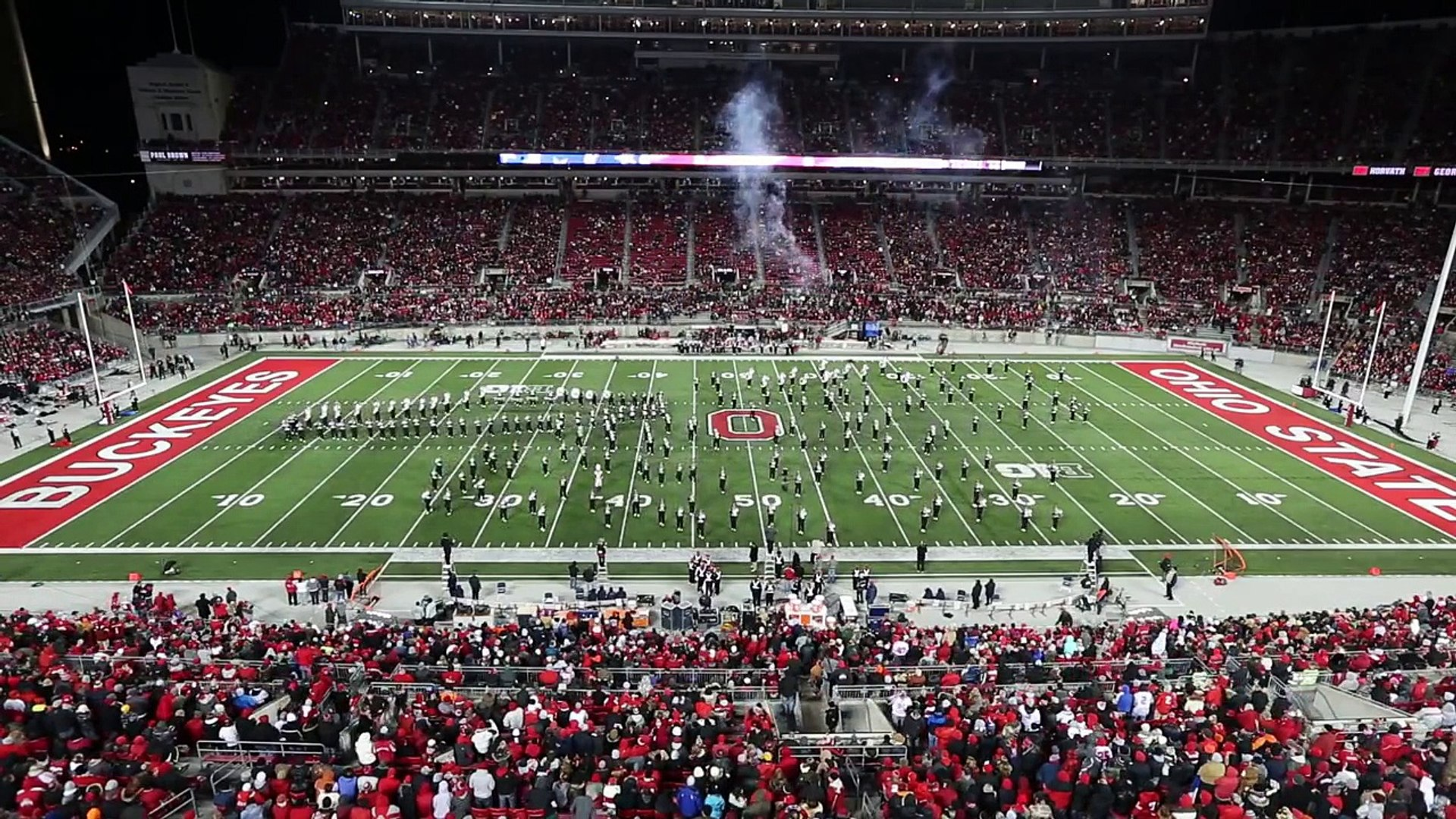The Ohio State Marching Band Nov. 1 halftime show: They Came from Outer Space
