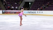 2015 ISU Jr. Grand Prix Colorado Springs Ladies Short Program Marin HONDA JPN