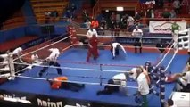 Disgusting Moment Boxer Attacks Referee After Losing Fight