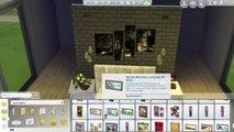 The Sims 4: Room Build | Grey & Black Bedroom
