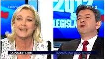 Pas-de-Calais - Marine Le Pen débat dans «La voix est libre»