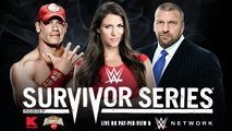Survivor Series 2014 Team Cena vs Team Authority