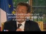 PPDA et Nicolas Sarkozy, petit garçon