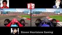 Alonso vs Vettel (FINAL) - Montreal 2014 F1 Onboard Tournament ᴴᴰ
