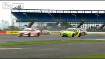 Massive crash at Silverstone BTCC