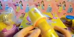 Plastilina Princesas Disney Rapunzel Diseña Peinados Play Doh Español ❤ Juguetes Plastilina Disney ❤