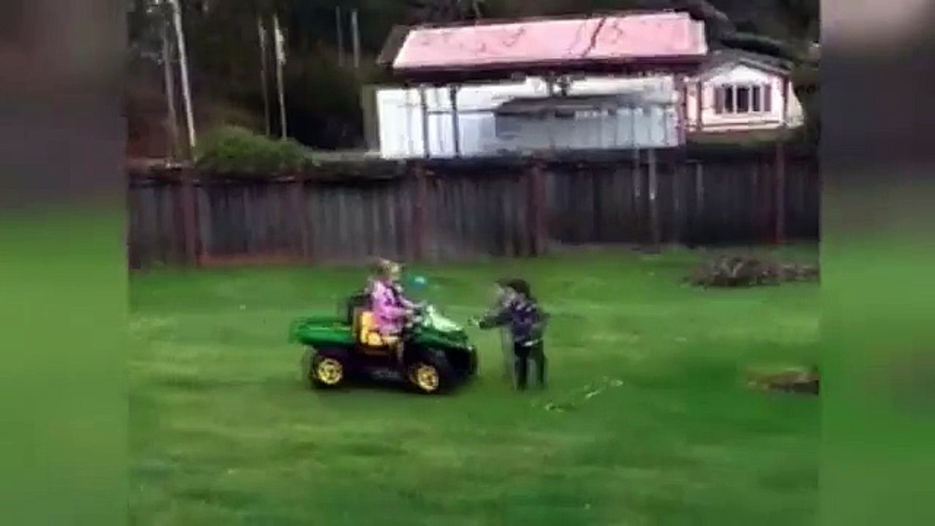 [Funny Kid Fail] Kids Drive Car Amazing Funny Accident