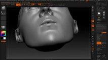 ZBrush Susie Salmon Head Digital Sculpt