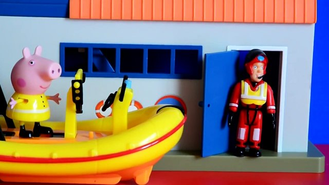 Peppa Pig English Episode Fireman Sam George Pig Pirate Ship peppa pig toys